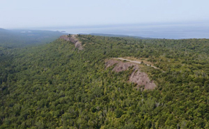 Aerial of Brockway Mountain Drive ~ E.Neil Harri