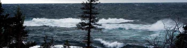 Winter on Lake Superior