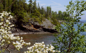 Isle Royale Shore ~Karen Karl